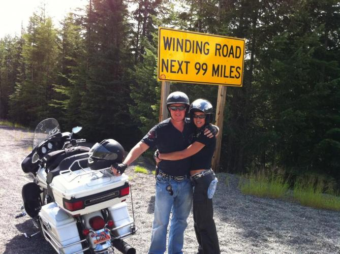 Lolo Pass Idaho Day Before Harley Accident & Coma 8/14/11